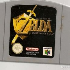 Videojogos e Consolas: THE LEGEND OF ZELDA OCARINA OF TIME. NINTENDO 64. GAME PAK. SOLO CARTUCHO. (RF.MA)Ñ. Lote 162623190