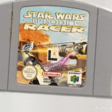 Videojuegos y Consolas: STAR WARS RACER. EPISODIO I. NINTENDO GAME PAK. SOLO CARTUCHO. (RF.MA)Ñ. Lote 162623770