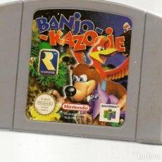 Videojuegos y Consolas: BANJO - KAZOOJE. NINTENDO 64. GAME PAK. SOLO CARTUCHO. (RF.MA)Ñ. Lote 162624234