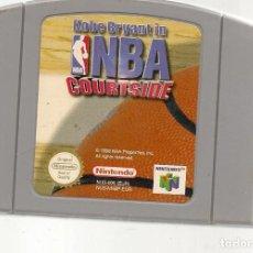 Videojuegos y Consolas: KOBE BRYANT IN NBA COURTSIDE. NINTENDO 64. GAME PAK. SOLO CARTUCHO. (RF.MA)Ñ. Lote 162624570
