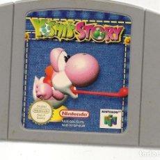 Videojuegos y Consolas: YOSHI´S STORY. NINTENDO 64. GAME PAK. SOLO CARTUCHO. (RF.MA)Ñ. Lote 162625734