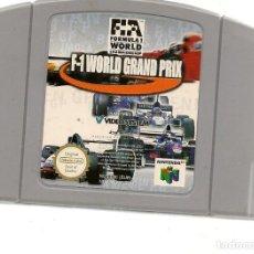 Videojuegos y Consolas: F-1. WORLD GRAND PRIX. NINTENDO 64. GAME PAK. SOLO CARTUCHO. (RF.MA)Ñ. Lote 162626262