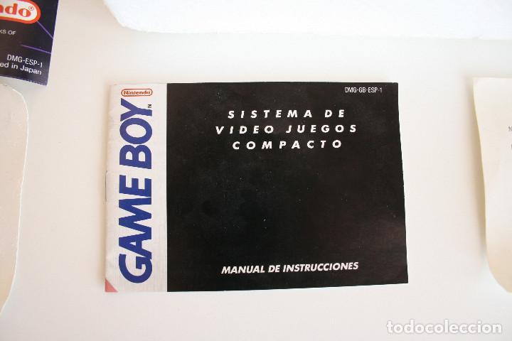 Videojuegos y Consolas: CONSOLA GAME BOY CLÁSICA CON CAJA Y CORCHO E INSTRUCCIONES - Foto 3 - 163496810