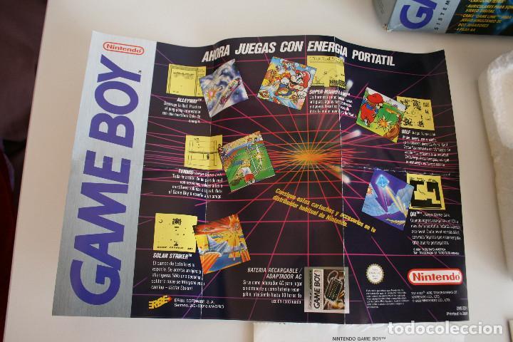Videojuegos y Consolas: CONSOLA GAME BOY CLÁSICA CON CAJA Y CORCHO E INSTRUCCIONES - Foto 4 - 163496810