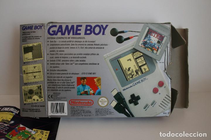 Videojuegos y Consolas: CONSOLA GAME BOY CLÁSICA CON CAJA Y CORCHO E INSTRUCCIONES - Foto 10 - 163496810