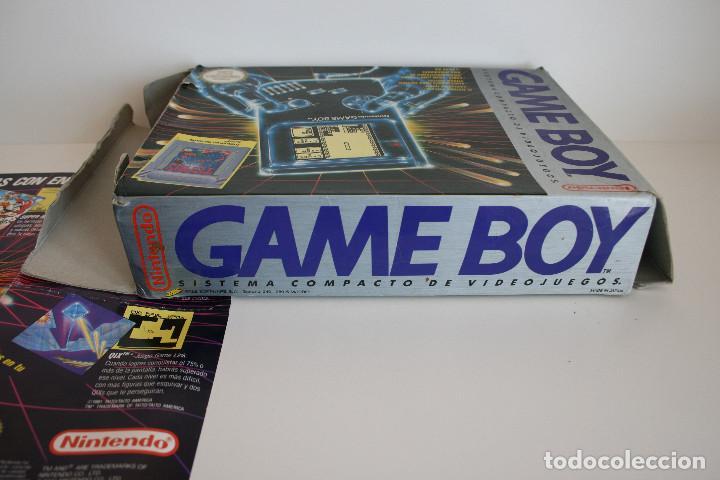 Videojuegos y Consolas: CONSOLA GAME BOY CLÁSICA CON CAJA Y CORCHO E INSTRUCCIONES - Foto 11 - 163496810
