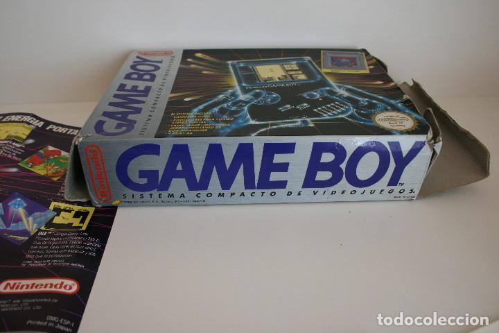 Videojuegos y Consolas: CONSOLA GAME BOY CLÁSICA CON CAJA Y CORCHO E INSTRUCCIONES - Foto 12 - 163496810