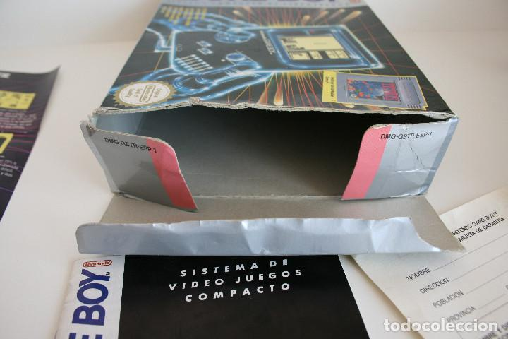 Videojuegos y Consolas: CONSOLA GAME BOY CLÁSICA CON CAJA Y CORCHO E INSTRUCCIONES - Foto 13 - 163496810