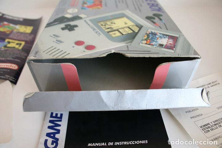 Videojuegos y Consolas: CONSOLA GAME BOY CLÁSICA CON CAJA Y CORCHO E INSTRUCCIONES - Foto 14 - 163496810