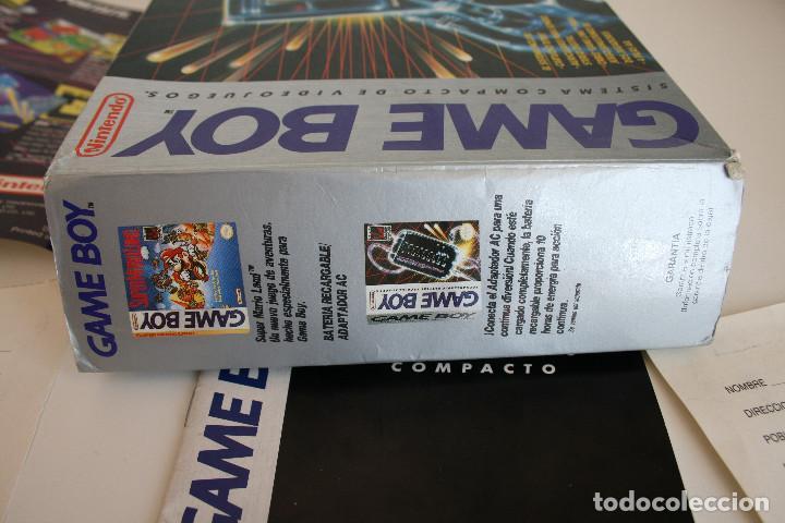 Videojuegos y Consolas: CONSOLA GAME BOY CLÁSICA CON CAJA Y CORCHO E INSTRUCCIONES - Foto 15 - 163496810