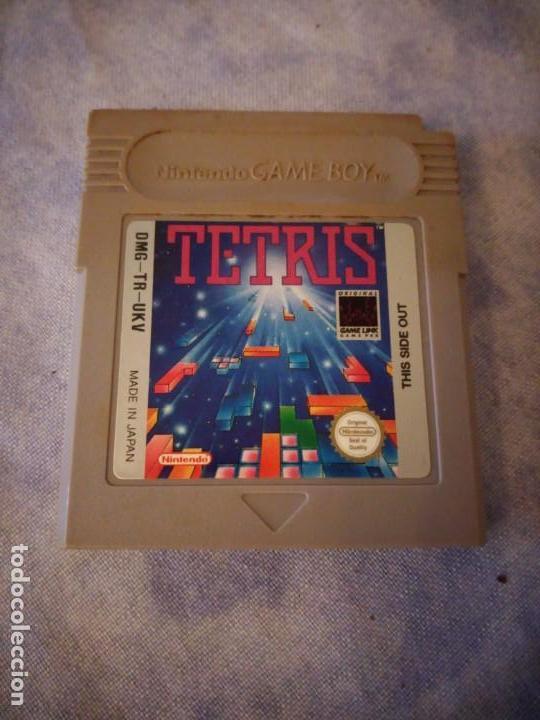 JUEGO DE GAME BOY NINTENDO TETRIS.MADE IN JAPAN (Juguetes - Videojuegos y Consolas - Nintendo - GameBoy)