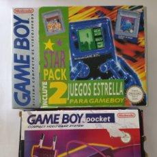 Videojuegos y Consolas: GAME BOY CLÁSICA. 2 JUEGOS TETRIS Y SUPERMARIOLAND. ADAPTADOR. Lote 173164312