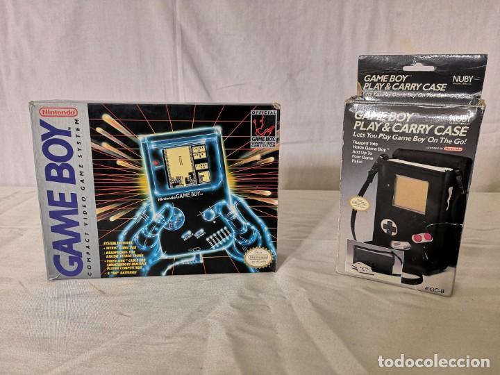 PACK GAMEBOY GAME BOY + FUNDA INCLUYE TETRIS (Juguetes - Videojuegos y Consolas - Nintendo - GameBoy)
