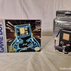 Videojuegos y Consolas: PACK GAMEBOY GAME BOY + FUNDA INCLUYE TETRIS. Lote 165023738