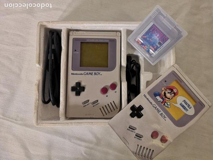 Videojuegos y Consolas: PACK GAMEBOY GAME BOY + FUNDA INCLUYE TETRIS - Foto 2 - 165023738