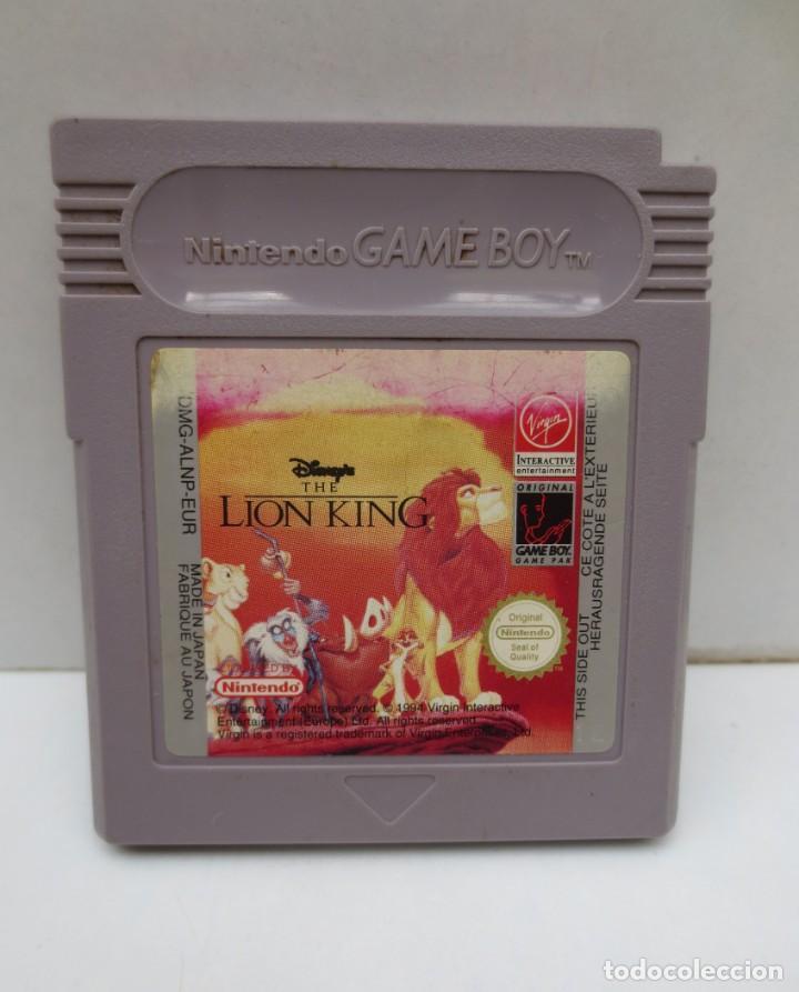 JUEGO NINTENDO GAME BOY - EL REY LEON - THE LION KING (Juguetes - Videojuegos y Consolas - Nintendo - GameBoy)