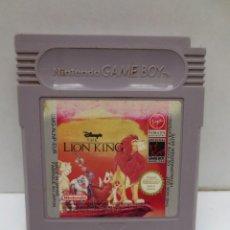 Videojuegos y Consolas: JUEGO NINTENDO GAME BOY - EL REY LEON - THE LION KING. Lote 165031762