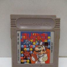 Videojuegos y Consolas: JUEGO NINTENDO GAME BOY- DR . MARIO. Lote 165035082