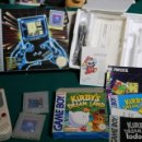 Videojuegos y Consolas: LOTE NINTENDO GAME BOY GB CLASICA ORIGINAL + TETRIS + CAJA + SOLDADO UNIVERSAL + CAJA KIRBY (VACIA) . Lote 165495230