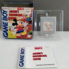 Videojuegos y Consolas: ANTIGUO JUEGO PARA NINTENDO GAME BOY MICKEYS . Lote 165977682