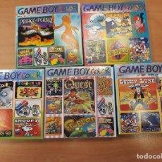 Videojuegos y Consolas: LOTE DE 5 JUEGOS DIFERENTES DE GAME BOY COLOR. Lote 195070368