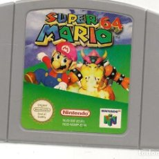 Videojuegos y Consolas: SUPER MARIO 64. NINTENDO 64. GAME PAK. SOLO CARTUCHO. (RF.MA)Ñ. Lote 166282142