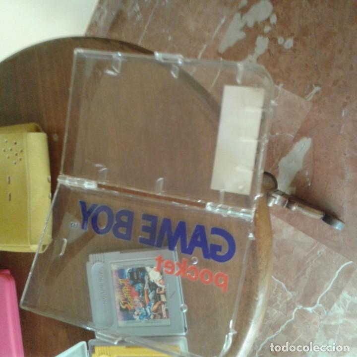 Videojuegos y Consolas: Lote 3 juegos Game Boy, lupa con luz y dos fundas - Foto 5 - 166961449