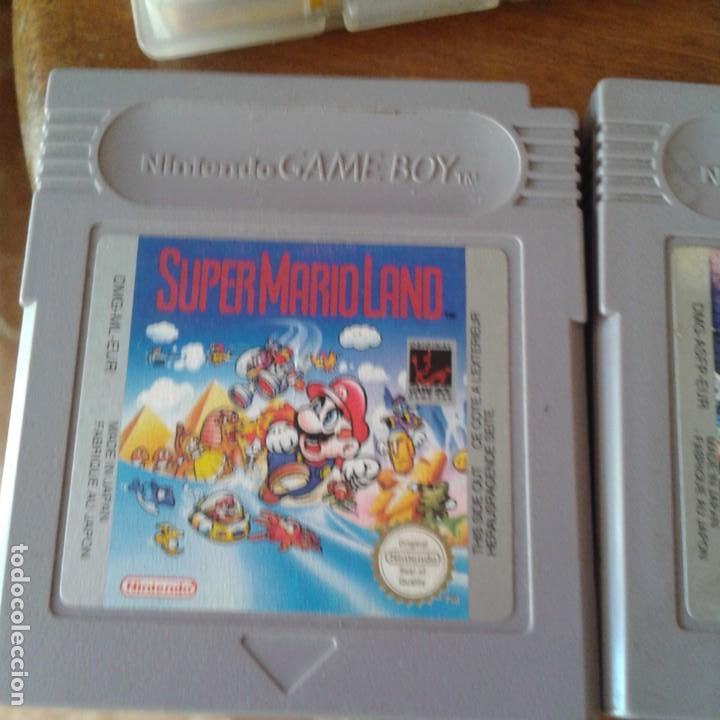 Videojuegos y Consolas: Lote 3 juegos Game Boy, lupa con luz y dos fundas - Foto 12 - 166961449