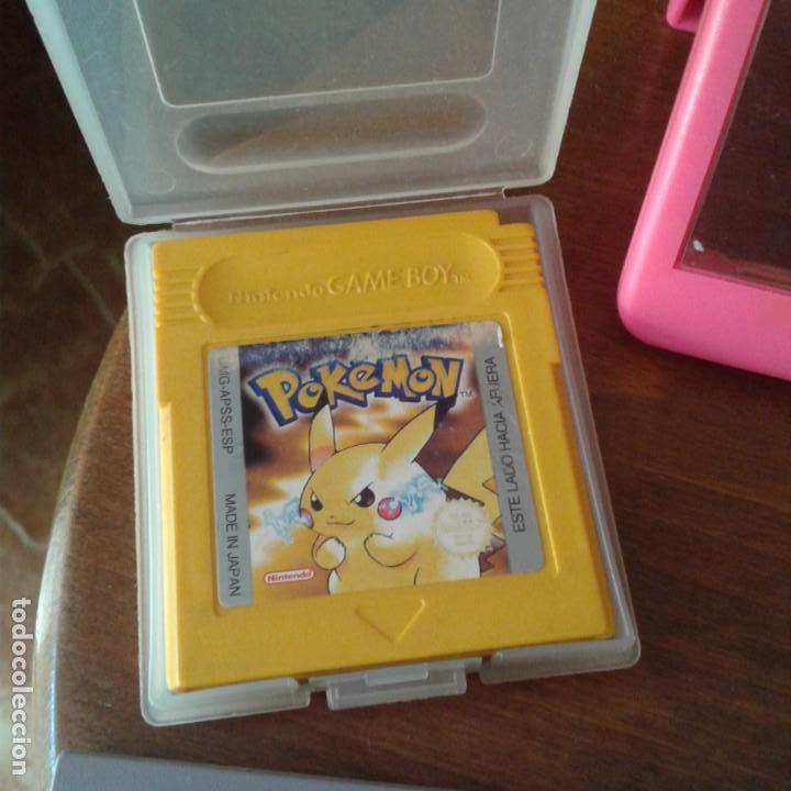 Videojuegos y Consolas: Lote 3 juegos Game Boy, lupa con luz y dos fundas - Foto 14 - 166961449