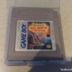 Videojuegos y Consolas: CASTLEVANIA 2 II BELMONT'S REVENGE GAMEBOY GB NINTENDO , VERSION USA. Lote 167498740