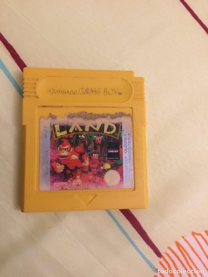 JUEGO DE GAMEBOY DONKEY KONG LAND (Juguetes - Videojuegos y Consolas - Nintendo - GameBoy)