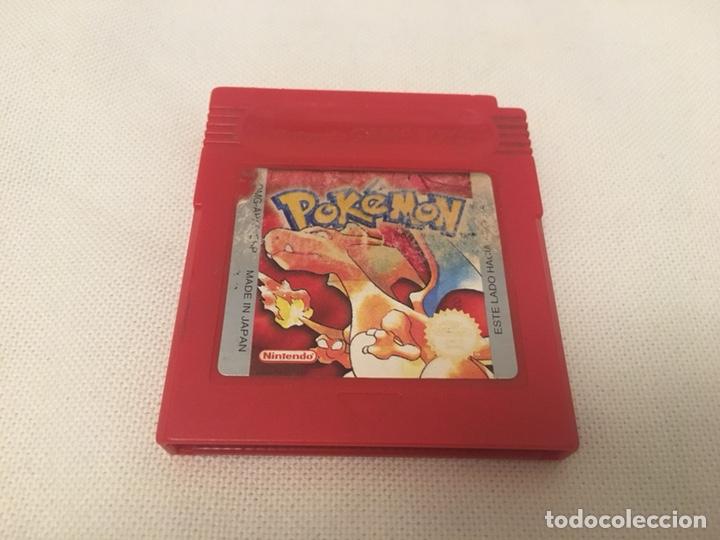GAME BOY POKÉMON ROJO. GAMEBOY. EDICIÓN ESPAÑOLA. FUNCIONA. NINTENDO (Juguetes - Videojuegos y Consolas - Nintendo - GameBoy)