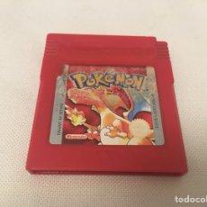 Videojuegos y Consolas: GAME BOY POKÉMON ROJO. GAMEBOY. EDICIÓN ESPAÑOLA. FUNCIONA. NINTENDO. Lote 167635908