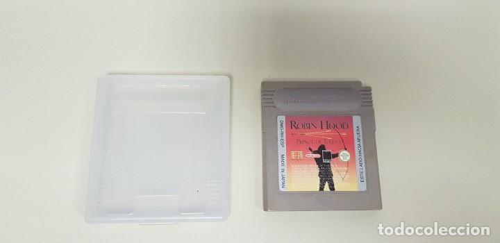 619- ROBIN HOOD PRINCE OF THIEVES NINTENDO GAME BOY VERSION ESPAÑOLA (Juguetes - Videojuegos y Consolas - Nintendo - GameBoy)
