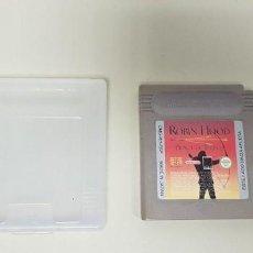 Videojuegos y Consolas: 619- ROBIN HOOD PRINCE OF THIEVES NINTENDO GAME BOY VERSION ESPAÑOLA . Lote 167721028
