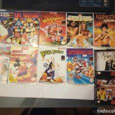 Videojuegos y Consolas: NINTENDO GAMEBOY LOTE 11 POSTALES MATUTANO. Lote 167765520