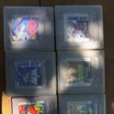Videojuegos y Consolas: LOTE JUEGOS GAME BOY. Lote 167880588
