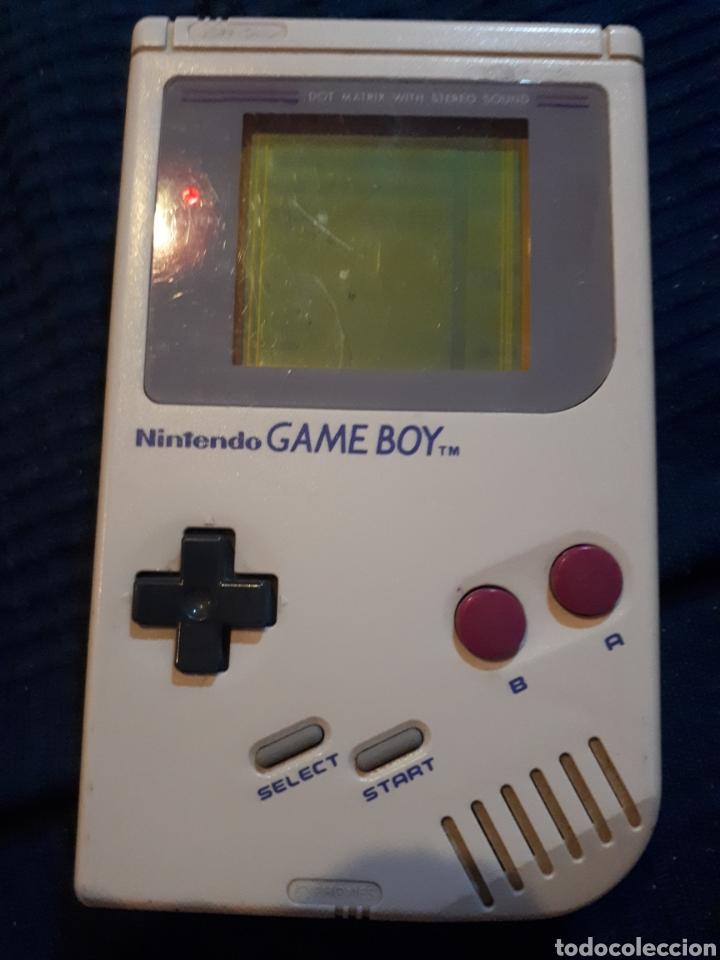 CONSOLA GAME BOY CLÁSICC COMPLETA FUNCIONANDO (Juguetes - Videojuegos y Consolas - Nintendo - GameBoy)