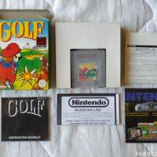 Videogiochi e Consoli: GOLF NINTENDO COMPLETO NINTENDO GAME BOY GAMEBOY. Lote 170040642