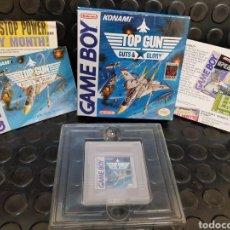 Videojuegos y Consolas: GAME BOY TOP GUN GUTS & GLORY EN CAJA Y CON TODOS LOS DOCUMENTOS, GUÍA, PROPAGANDA.... Lote 171114122