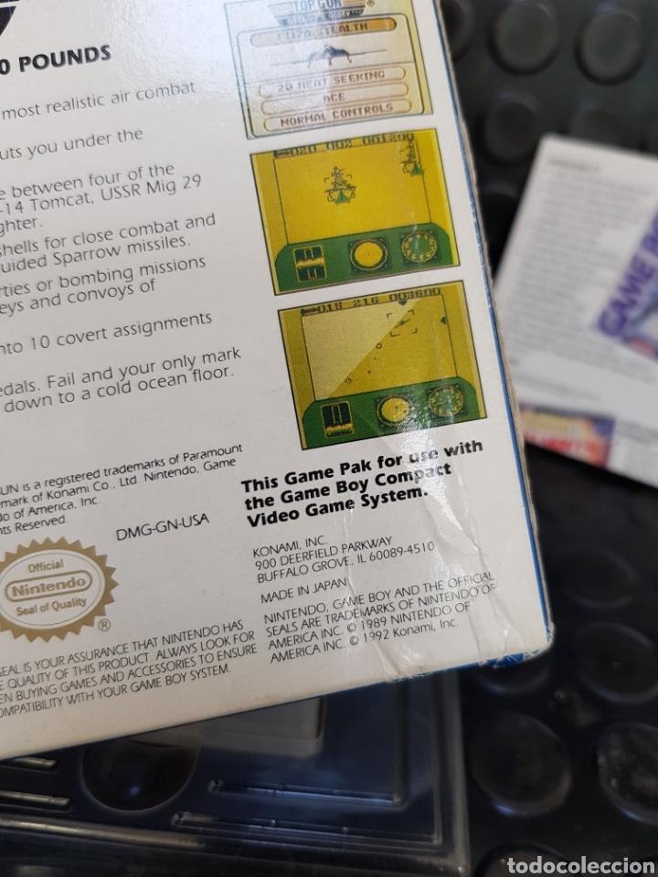 Videojuegos y Consolas: Game Boy Top Gun Guts & Glory en caja y con todos los documentos, guía, propaganda... - Foto 2 - 171114122