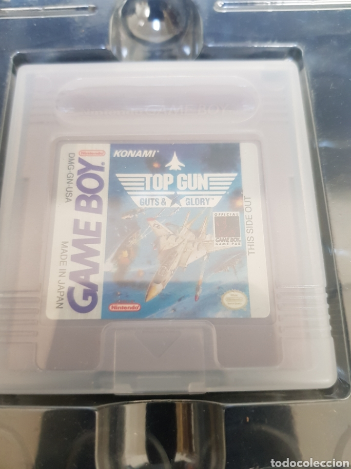 Videojuegos y Consolas: Game Boy Top Gun Guts & Glory en caja y con todos los documentos, guía, propaganda... - Foto 3 - 171114122