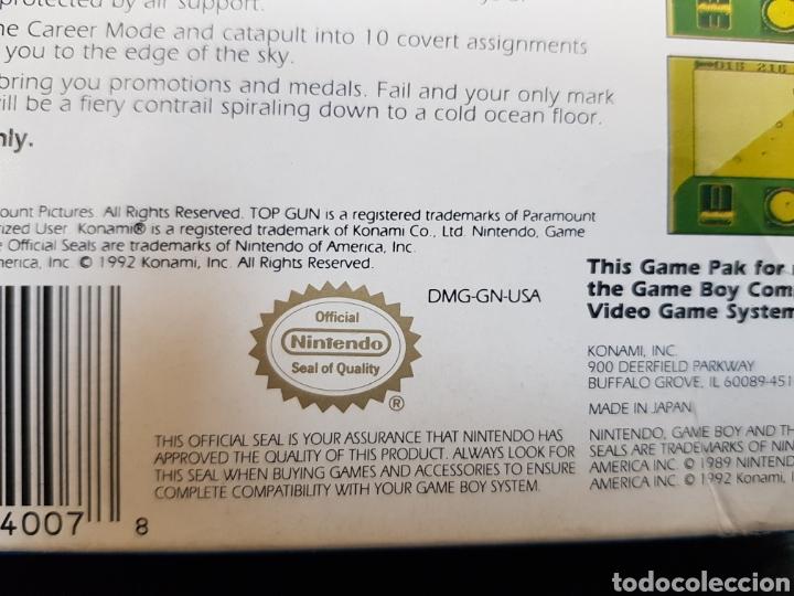 Videojuegos y Consolas: Game Boy Top Gun Guts & Glory en caja y con todos los documentos, guía, propaganda... - Foto 4 - 171114122
