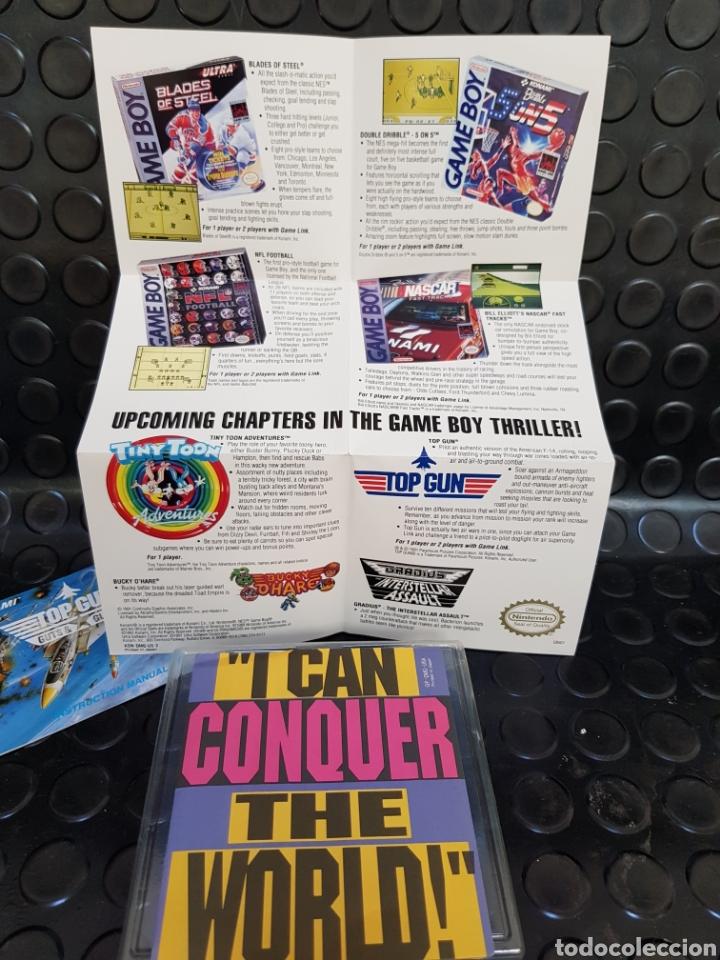 Videojuegos y Consolas: Game Boy Top Gun Guts & Glory en caja y con todos los documentos, guía, propaganda... - Foto 5 - 171114122