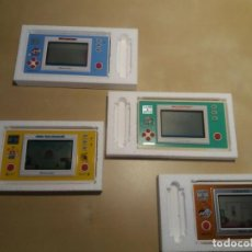 Videojuegos y Consolas: 5 CORCHOS GAME AND WATCH. WIDE SCREEN. Lote 171173259