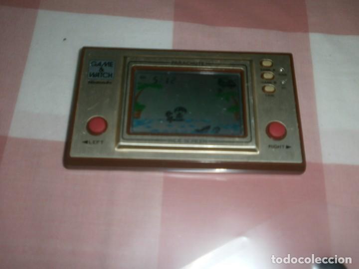 NINTENDO GAME WATCH PARACHUTE WIDE SCREEN - FUNCIONANDO (Juguetes - Videojuegos y Consolas - Nintendo - GameBoy)