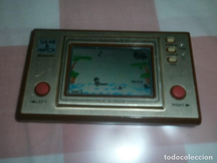 Videojuegos y Consolas: Nintendo Game Watch Parachute Wide Screen - funcionando - Foto 3 - 171256495