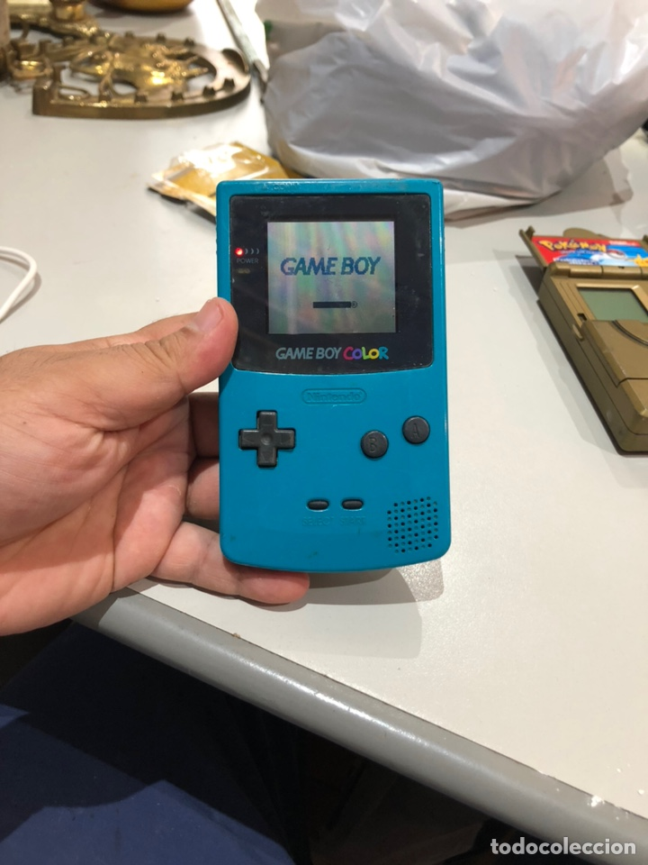 CONSOLA GAME BOY COLOR FUNCIONA PERFECTAMENTE (Juguetes - Videojuegos y Consolas - Nintendo - GameBoy)