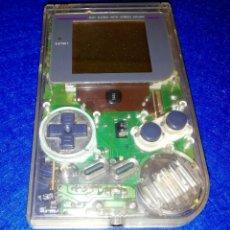 Videojuegos y Consolas: VIDEOJUEGOS --- CONSOLA PORTÁTIL NINTENDO GAME BOY CLASICA 1990 (EDICIÓN TRANSPARENTE). Lote 171840984