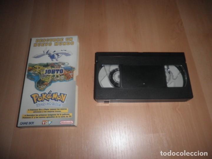 Videojuegos y Consolas: VHS MEGA TOP NINTENDO GAME BOY POKEMON JOHTO - Foto 2 - 171994769
